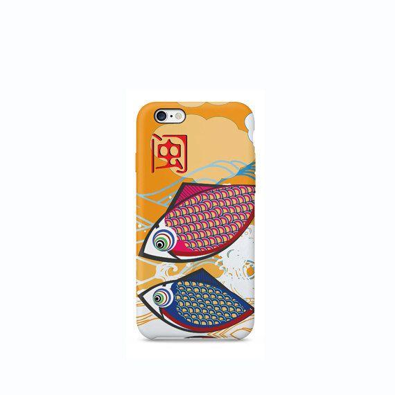 Japanese Koi Carp Fish iPhone 6 case iPhone 4 case by VDirectCases