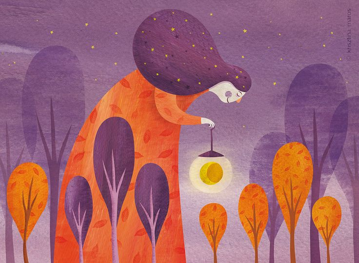 September - this is the third (and last) illustration by me for Ringató calendar. It became the cover as well.