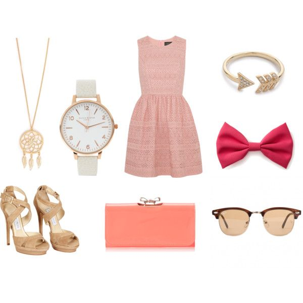 """pink queen"" by theo-mar on Polyvore"