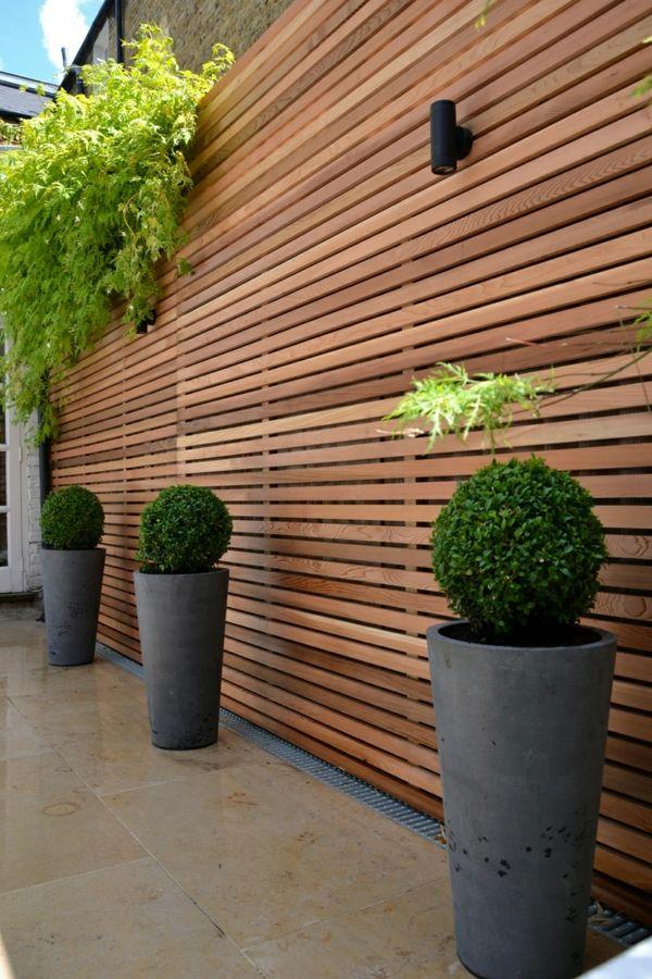 Choisissez un panneau occultant de jardin cloisons occultant jardin palissade jardin et - Cloison de jardin ...