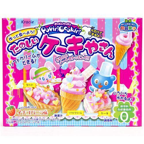 Kracie Popin' Cookin' DIY candy kit cream cake