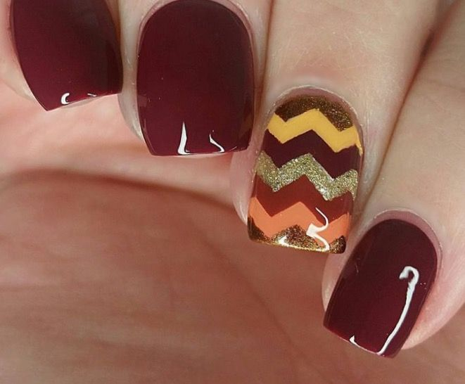 30 best Autumn Nails images on Pinterest | Autumn nails, Ongles and Bebe