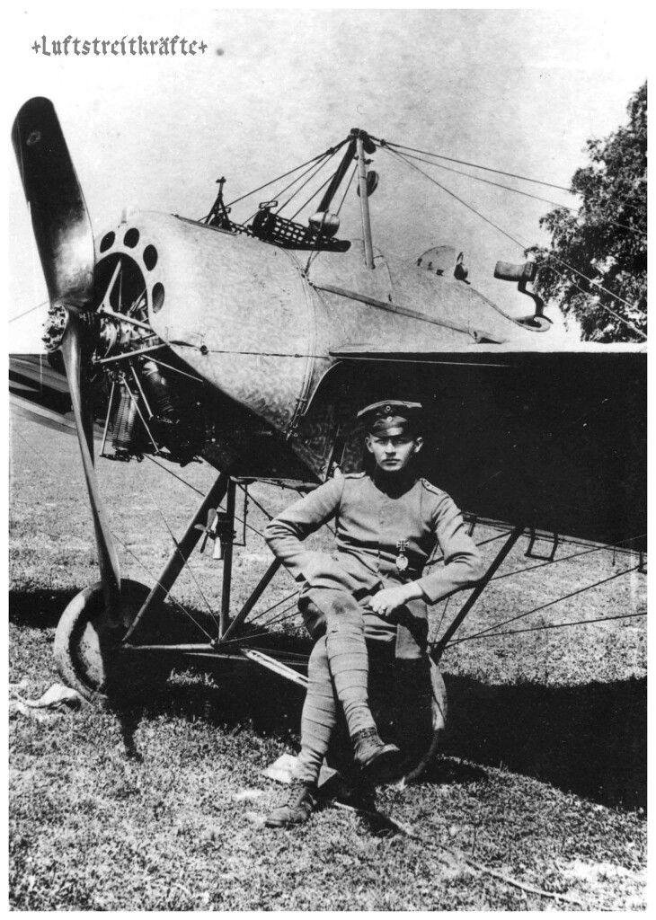 Fokker E.IV Eindecker, Ltn. Kurt Student ...