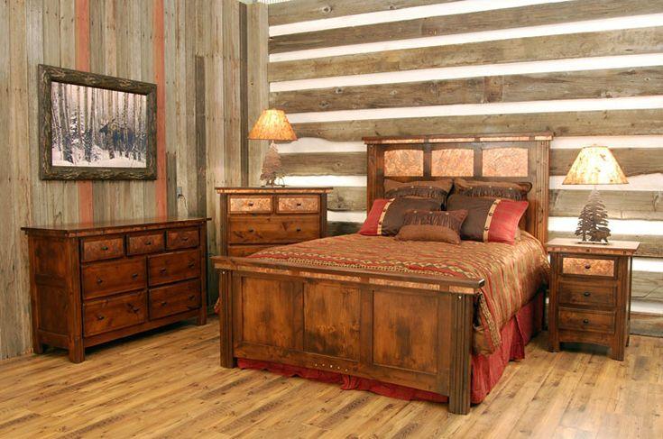 Camera da letto in stile shabby chic n.20