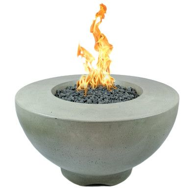 Found it at Wayfair - Sienna Concrete Natural Gas Fire Pit More