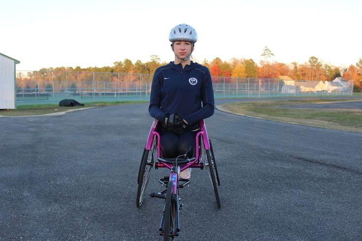 Jamestown sophomore breaks wheelchair racing world record, eyes Rio Paralympics | Williamsburg Yorktown Daily