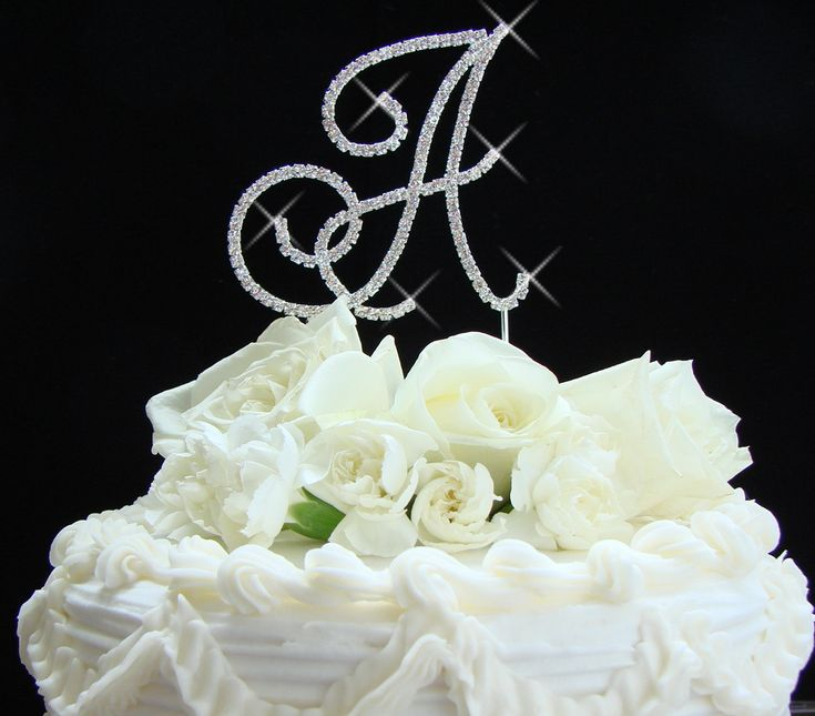 375 Best Wedding Crystal Cake Toppers Images On And Sparkle