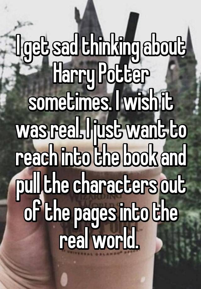 Whisper Harry Potter Book Confessions -BuzzFeed