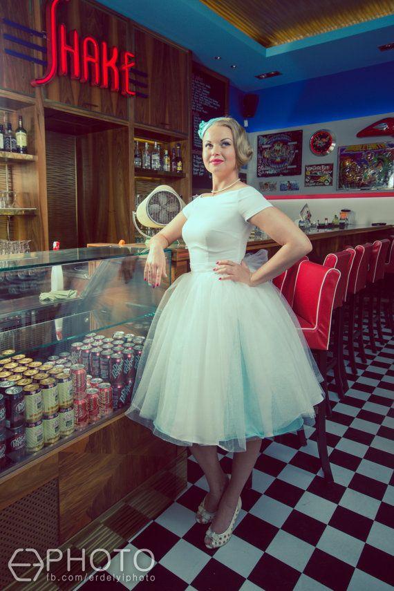 Tulle wedding dress By TiCCi by TicciRockabilly on Etsy, $230.00