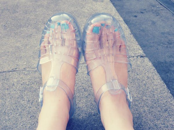 Who didn't love their Jellys? My favorite shoe and responsible for many foot issues later in life. Totally worth it ;-)