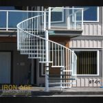 Iron Age creates Custom Driveway Gates of all shapes and sizes. If you can imagine it, we can create it. For extra ease, we offer full automation in all the most popular methods. Just let us know what you need, whether it is a Swing Type, Sliding, Keypad Entry- We do it all! http://ironagebc.com/products/residential/stairs