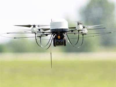 Drone deliveries.
