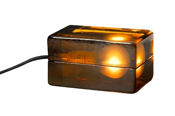 DESIGN HOUSE STOCKHOLM  BLOCK LAMP ブロックランプ アンバー