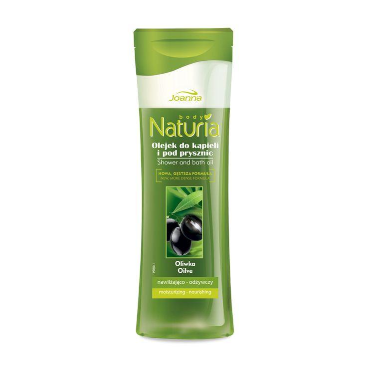 Olejek kąpielowy o zapachu oliwki. Ekstrakt z oliwek działa intensywnie nawilżająco i odżywczo.