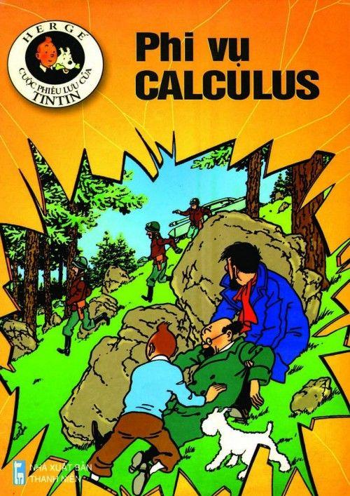Couverture de Tintin (en langues étrangères) -18Vietnamien- Phi Vụ Calculus