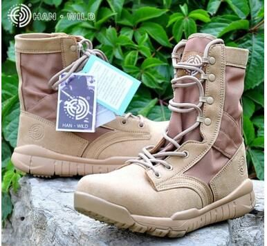 Production wholesale sale CQB ultralight combat climbing boots Han wild outdoor male commando jungle combat boots
