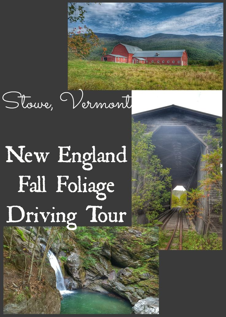 Day 3 of my fall foliage driving tour began perfectly.. read all there is to do in and around Stowe, VT