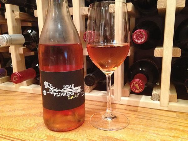 """Yellow City Cellars Dead Flowers Rosé Superb rosé from the Lone Star state Bold, red blend with red fruits, light mineral, & a rich mouth. """"Provence inspired, Texas made""""."""