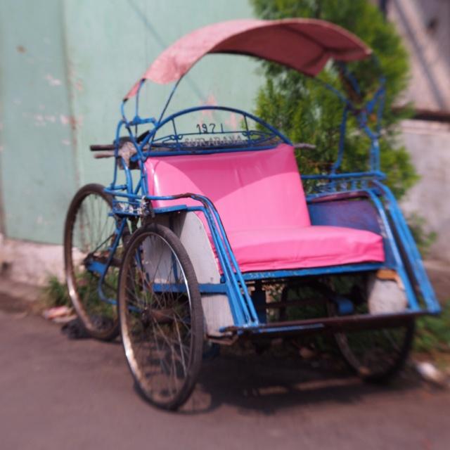 Found in Surabaya #BecakfromIndonesia