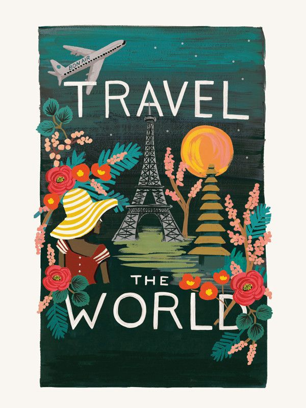 Travel the World 2015 calendar | Rifle Paper Co