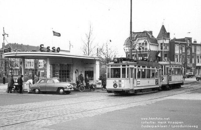 Tram van lijn 15, Zuiderparklaan / Loosduinseweg