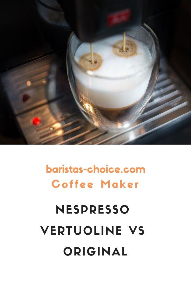 Nespresso Vertuoline Vs Original Coffee Preparation Nespresso