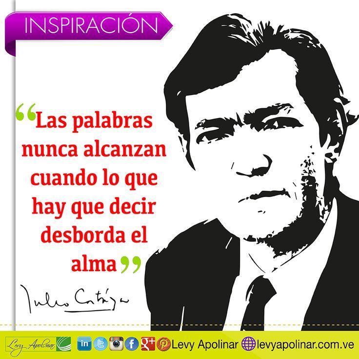 A descansar con esta hermosa frase del gran maestro de la literatura hispana Julio Cortázar. Feliz noche!!!