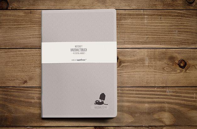 #Notizheft als #Haushaltsbuch