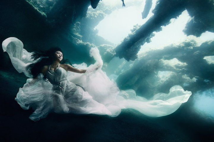 Stunning Underwater Shipwreck Portraits Taken Off the Shores of Bali - My Modern Met