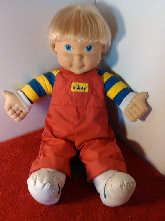 Vintage 1980 S My Buddy Doll Blonde Hair Vintage Toys