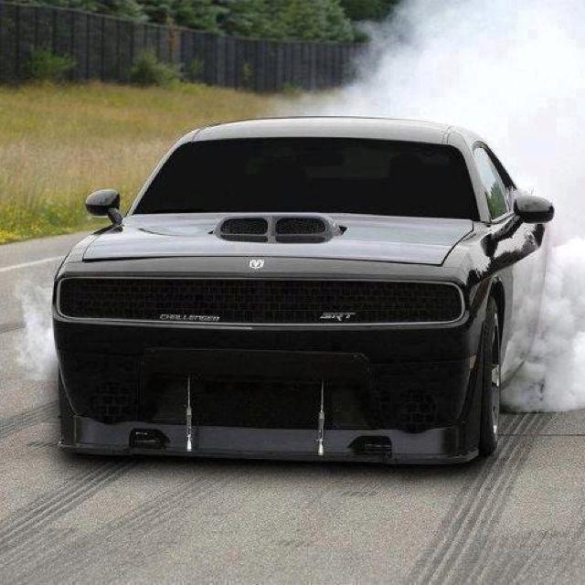 Back in black !! - Dodge Challenger