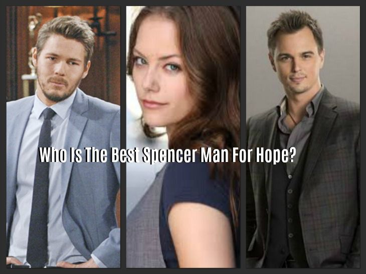 The Bold and The Beautiful POLL: Who Is The Right Spencer Man For Hope Logan?