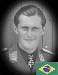 Brazilian pilot in german Luftwaffe, Egon Albrecht. Born: May 19, 1918 Curitiba - Brazil Died: 25 August 1944 Piloto Brasileiro na Luftwaffe alemã, Egon Albrecht. Nasc: 19 de Maio de 1918 Curitiba - Brasil Morte: 25 de Agosto de 1944.