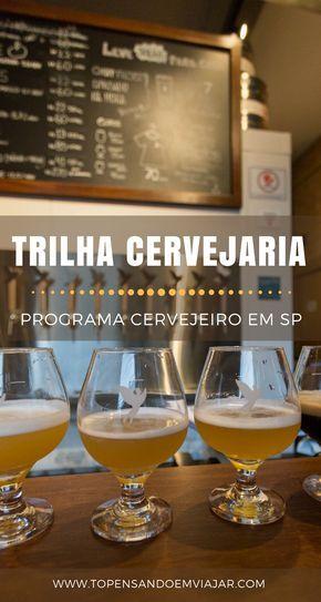 Conheça o taproom da TRILHA Cervejaria, uma novidade cervejeira no bairro de Perdizes, em SP. Perto do Allianz Parque.
