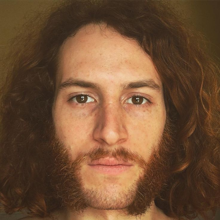 Classy Mutton chop Beard with Long Curly Hairs