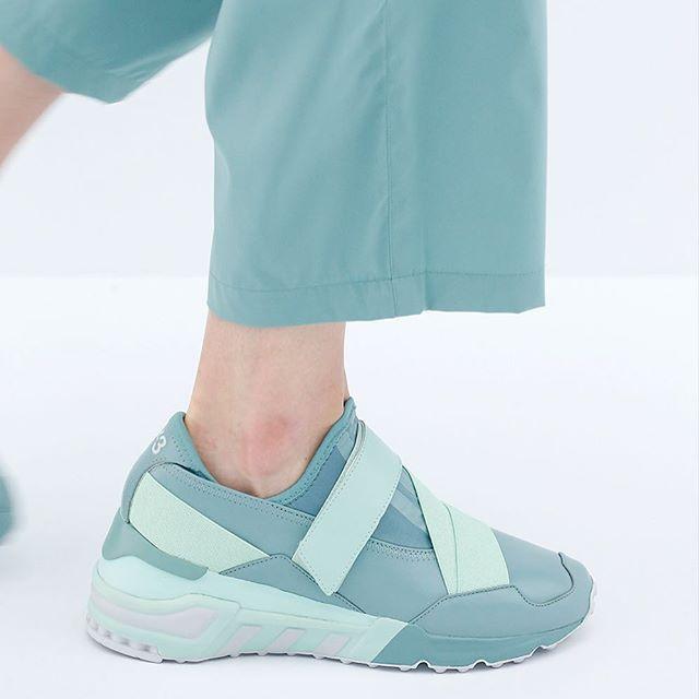Feminine, futuristic and sporty: the Y-3 Astral.  #adidas #Y3 #PFW…