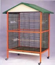Voliera MIESTRE gabbia  per uccelli roditori H 175 cm