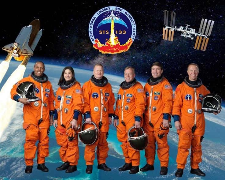 STS-133 Portrait: Mission Poster, Outer Space, Sts 133 Portrait, Nasa Mission