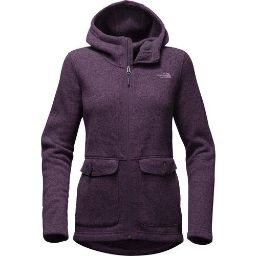 The North Face Women's Indi 2 Hoodie Parka (Purple Dark, Size Large) - Women's Outerwear, Women's Fleece at Academy Sports