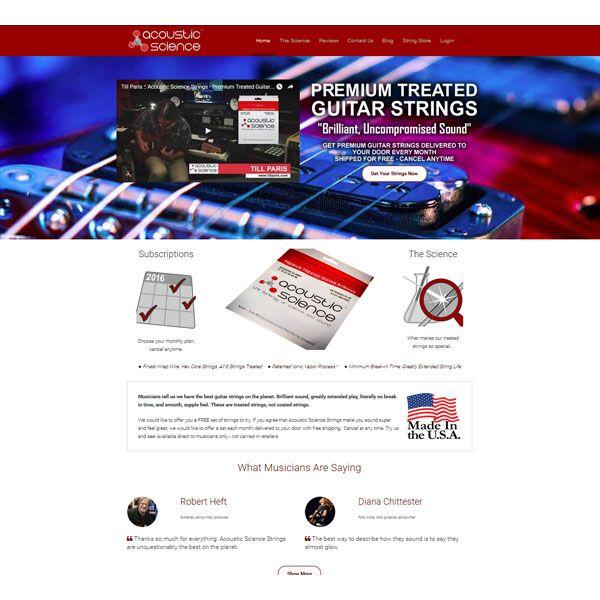 Acoustic Science Strings