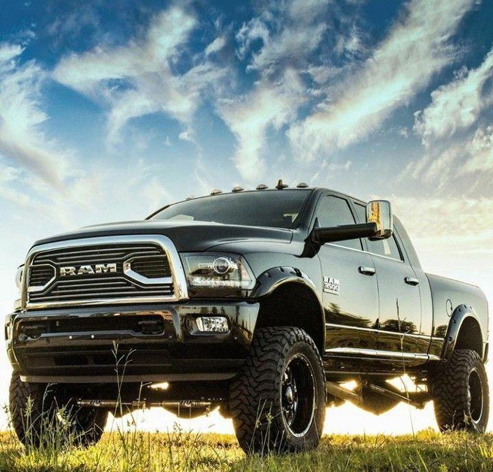 Pin By Eric Waddell On Dodge Trucks: Biggest Jacked Up Trucks #Jackeduptrucks