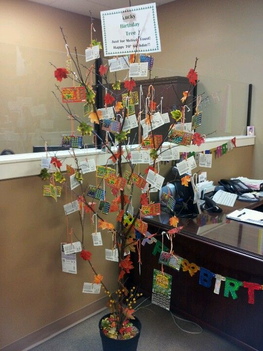 17 Best Ideas About Lottery Ticket Tree On Pinterest