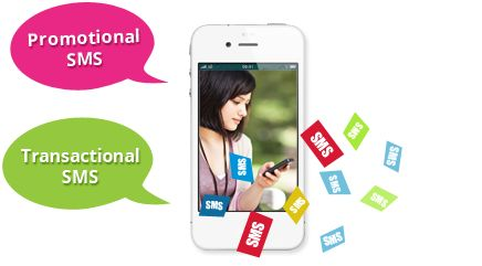 #PromotionalSMS and #TransactionalSMS are the 2 types of #Bulk SMS