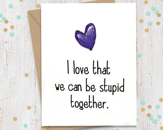 Funny Birthday Card, Anniversary Card, Valentines Day Card, Galentine Card, Bestfriend Card, Card for Him, Card for Her, Birthday Greeting
