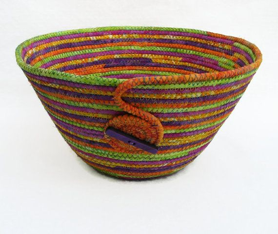 Coiled Rag Rug Instructions: 1000+ Images About Coiled Fabric Bowls On Pinterest