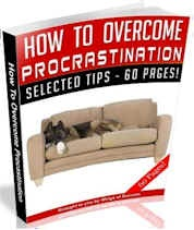 How To Overcome Procrastination (60 Page MRR Ebook Package) dunway.info