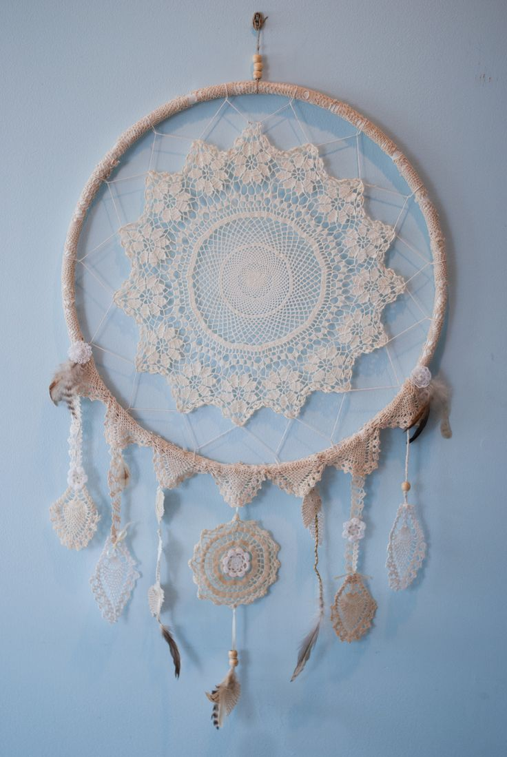 dream catcher in lace