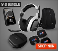 Astro A40 Audio System | A40 Headset & Mixamp | AstroGaming.com