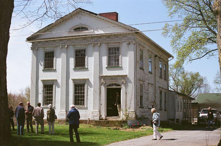 Dr. Peter Allen Greek Revival style house, Kinsman OH, bui… | Flickr