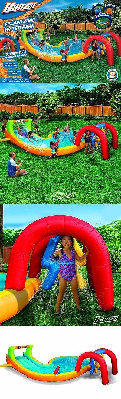 Water Slides 145992: Banzai Splash Zone Water Park -> BUY IT NOW ONLY: $319.99 on eBay!